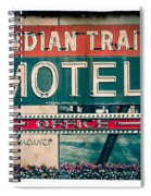 Indian Trail Motel Spiral Notebook