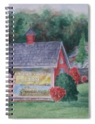 Indian Valley Farm Spiral Notebook