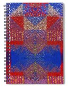 Indian Weave Abstract Spiral Notebook