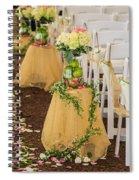 Indian Wedding Decor 5 Spiral Notebook