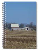 Indiana Barns Spiral Notebook