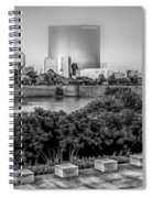 Indiana - Downtown From Across White River Panoramic Spiral Notebook