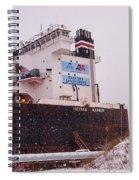 Indiana Harbor 2  Spiral Notebook