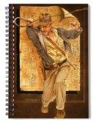 Indiana Jones Spiral Notebook