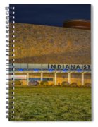 Indiana State Museum Night Delta Spiral Notebook