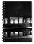 Indiana War Memorial On The Canal Spiral Notebook