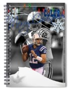 Indianapolis Colts Christmas Card Spiral Notebook