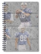 Indianapolis Colts Legends Spiral Notebook