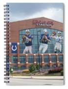 Indianapolis Colts Lucas Oil Stadium Spiral Notebook