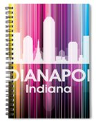 Indianapolis In 2 Spiral Notebook