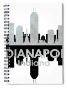 Indianapolis In 4 Spiral Notebook