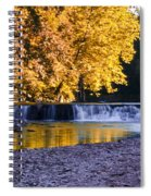 Indianhead Dam - Perkiomen Creek Spiral Notebook