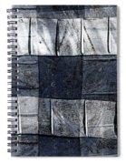 Indigo Squares 1 Of 5 Spiral Notebook
