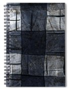 Indigo Squares 4 Of 5 Spiral Notebook