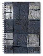 Indigo Squares 5 Of 5 Spiral Notebook