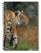Indo-chinese Tiger Spiral Notebook
