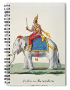 Indra Or Devendra, From Linde Spiral Notebook
