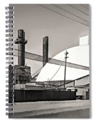 Industrial Art 2 Sepia Spiral Notebook