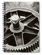 Industrial Gear Spiral Notebook