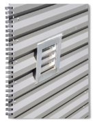 Industrial Photography - Silver Lining By Sharon Cummings Spiral Notebook