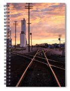 Industrial Rail Yard Spiral Notebook