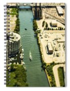 Industrial Riverside Spiral Notebook