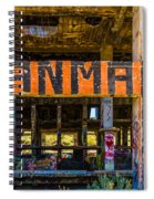 Industrial Strength Graffiti  Spiral Notebook
