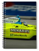 Indy Car 20 Spiral Notebook