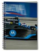 Indy Car 7 Spiral Notebook