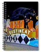 Infant Mystics Emblem Spiral Notebook