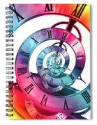 Infinite Rainbow 2 Spiral Notebook
