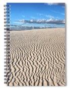 Infinite Sand Patterns Spiral Notebook
