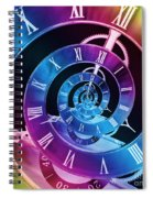 Infinite Time Rainbow 1 Spiral Notebook