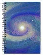Infinity Blue Spiral Notebook