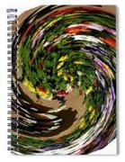Infinity Flower Spiral 1 Spiral Notebook