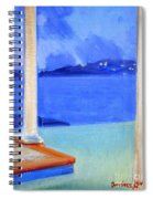 Infinity Pool At Twilight Spiral Notebook