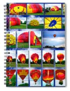 Inflation Hot Air Balloon Spiral Notebook