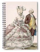 Informal Wedding Dress, Engraved Spiral Notebook