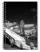 Infrared Carnival Spiral Notebook