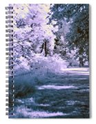 Infrared Morning Spiral Notebook