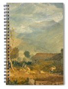 Ingleborough From Chapel-le-dale Spiral Notebook