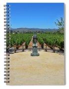 Inglenook Vineyard -3 Spiral Notebook