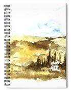 Ink Landscape Spiral Notebook