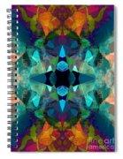 Inkblot Imagination Spiral Notebook