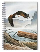 Inland Sea Eagle Spiral Notebook