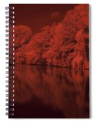 Inner City Lake Spiral Notebook