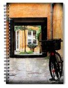 Inner Courtyard Spiral Notebook