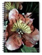 Inner Floral Beauty Spiral Notebook