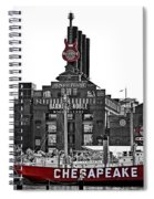 Inner Harbor Spiral Notebook
