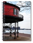 Inner Harbor Lighthouse - Baltimore Spiral Notebook